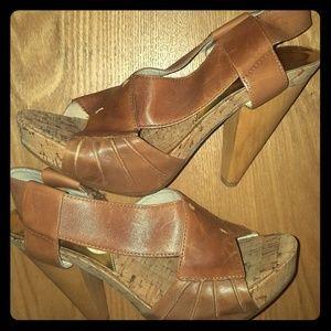 Michael Kors Platform Heel Sandal